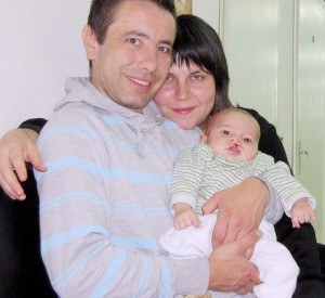 Georgi, Zhana and ther and their son Matthew